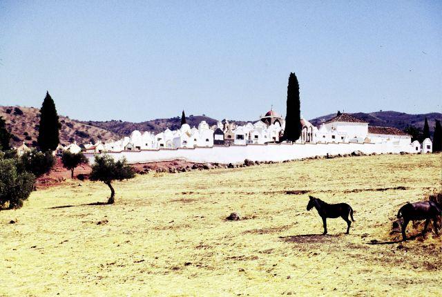 Zdj�cia: Granada, Andaluzja, cmentarz w Andaluzji, HISZPANIA