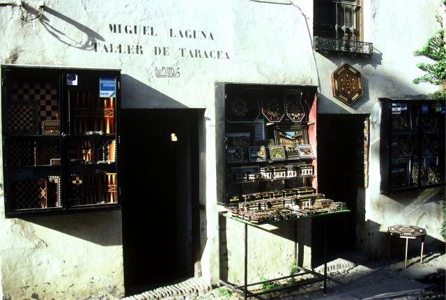 Zdjęcia: Brcelona, przydrożny kramik, HISZPANIA