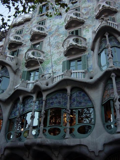 Zdjęcia: Barcelona, Katalonia, Casa Batallo, HISZPANIA