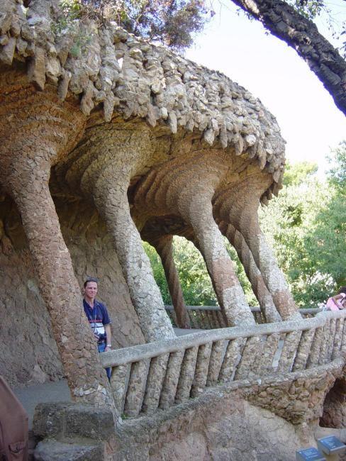 Zdjęcia: Barcelona, Katalonia, Park Guell, HISZPANIA