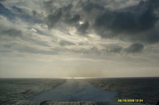 Zdjęcia: ocean atlantycki, między  Teneryfa a LA GOMERA, koniec kuli ziemskiej ( morskiej), HISZPANIA