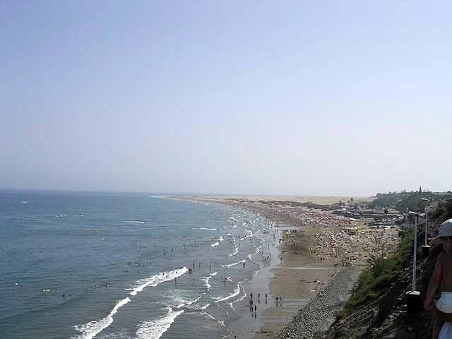 Zdjęcia: Gran Canaria, Wyspy Kanaryjskie, PLAZA PLAYA DEL INGLES, HISZPANIA