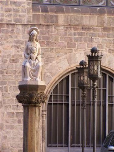 Zdjęcia: Barcelona, Katalonia, gotyk, HISZPANIA