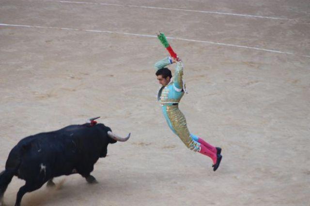 Zdjęcia: Vitoria, Kraj Baskow, Corrida de toros, HISZPANIA
