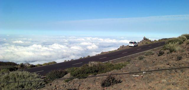 Zdjęcia: taburiente, La Palma, Widok z 2400 m .n.p.m caldera de Taburiente, HISZPANIA