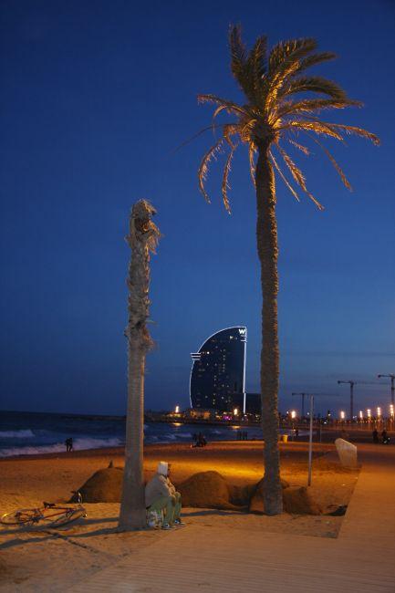 Zdjęcia: Barcelona, Cataluna, Na Plaży, HISZPANIA