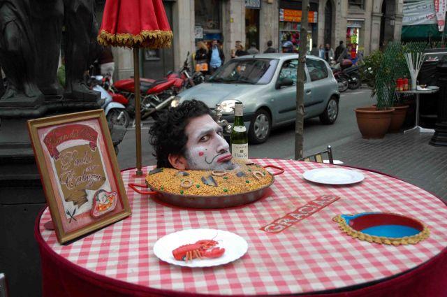Zdjęcia: barcelona, katalonia, podano do stołu.., HISZPANIA
