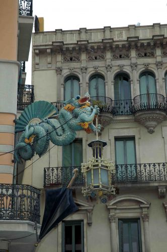 Zdjęcia: barcelona, katalonia, art noveau, HISZPANIA
