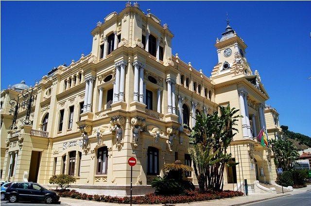 Zdjęcia: Malaga, Andaluzja, Ratusz w Maladze, HISZPANIA