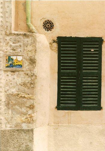 Zdj�cia: Majorka, okno, HISZPANIA