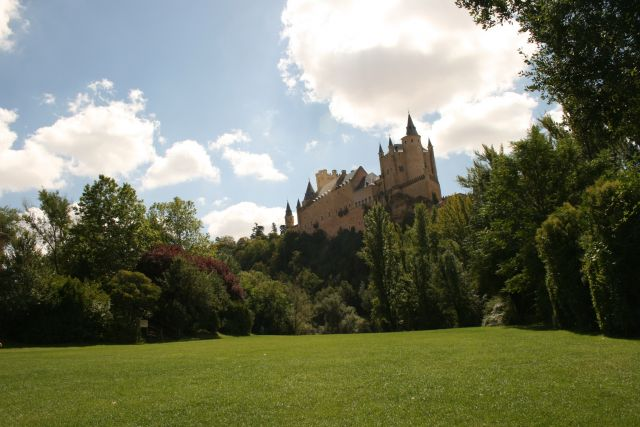 Zdjęcia: Segovia, Kastylia i Leon, Segovia Alcazar, HISZPANIA