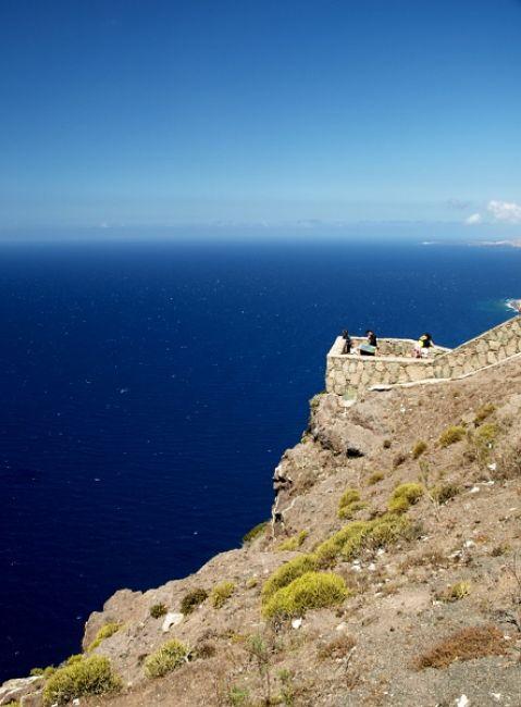 Zdjęcia: zach wybrzeże, Gran Canaria, taras widokowy na zach wybrzeżu, HISZPANIA