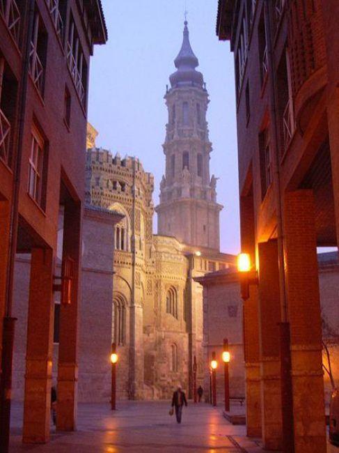 Zdjęcia: Saragossa, Katedra La Seo, HISZPANIA