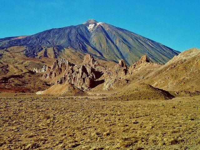 Zdjęcia: Pico del Teide, Teneryfa, Pico del Teide  - 3718 m., HISZPANIA