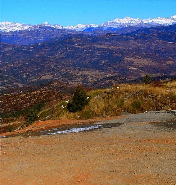 Zdjęcia: kilkadziesiąt kilometrów za Saragossą, ..., Pireneje, HISZPANIA