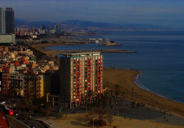 Zdjęcia: Barcelona, Catalunya, Plaża, HISZPANIA