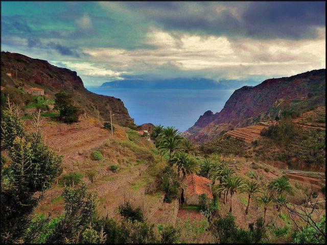 Zdjęcia: Gomera, Wyspy Kanaryjskie, Krajobraz Gomery, HISZPANIA