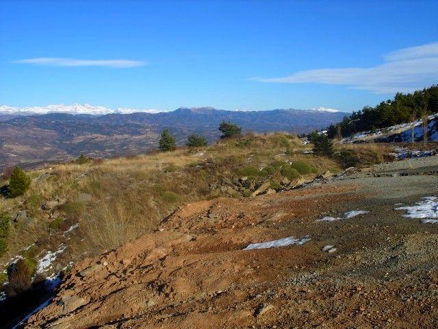 Zdjęcia: kilkadziesiąt kilometrów za Saragossą, Pireneje, białe szczyty 2, HISZPANIA