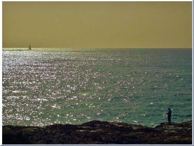 Zdjęcia: Teneryfa, Wyspy Kanaryjskie, Rybak, HISZPANIA