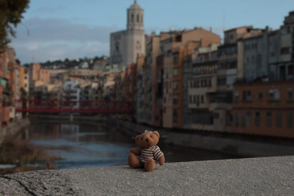 Zdjęcia: Girona, Cataluna, Paskownik w Gironie, HISZPANIA