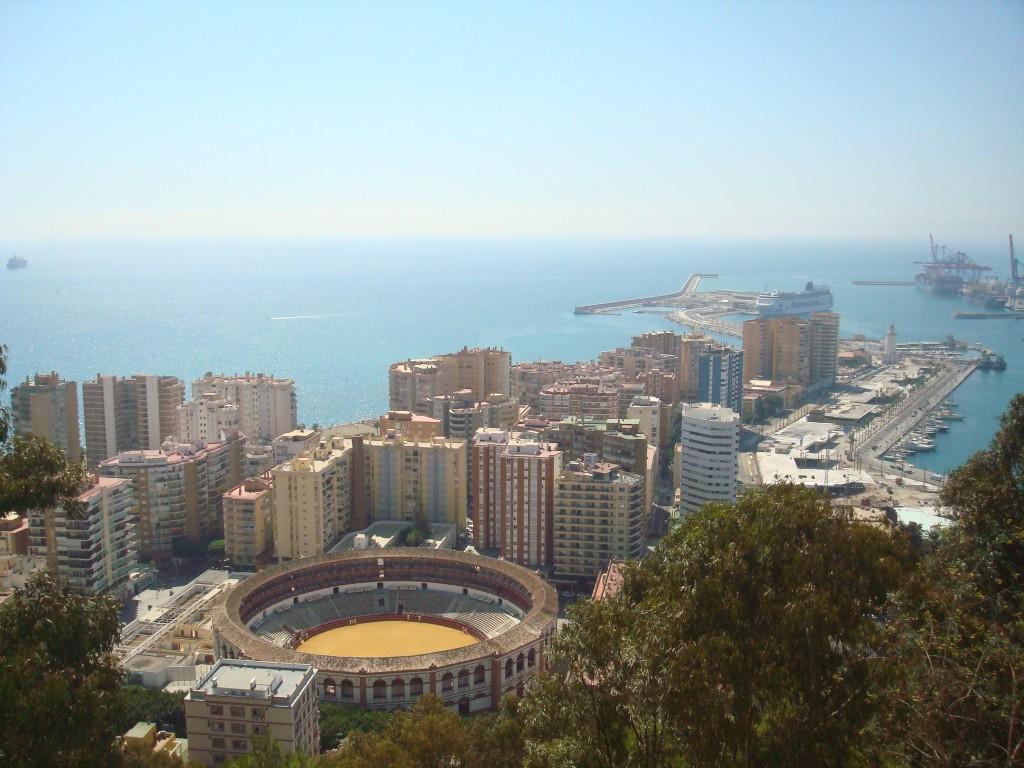 Zdjęcia: malaga, andaluzja, malaga z góry, HISZPANIA