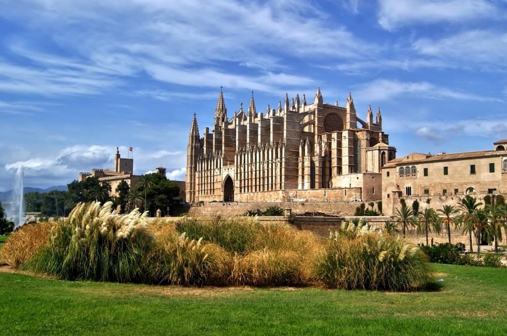 Zdjęcia: Katedra La Seu, Majorka, La Seu, HISZPANIA