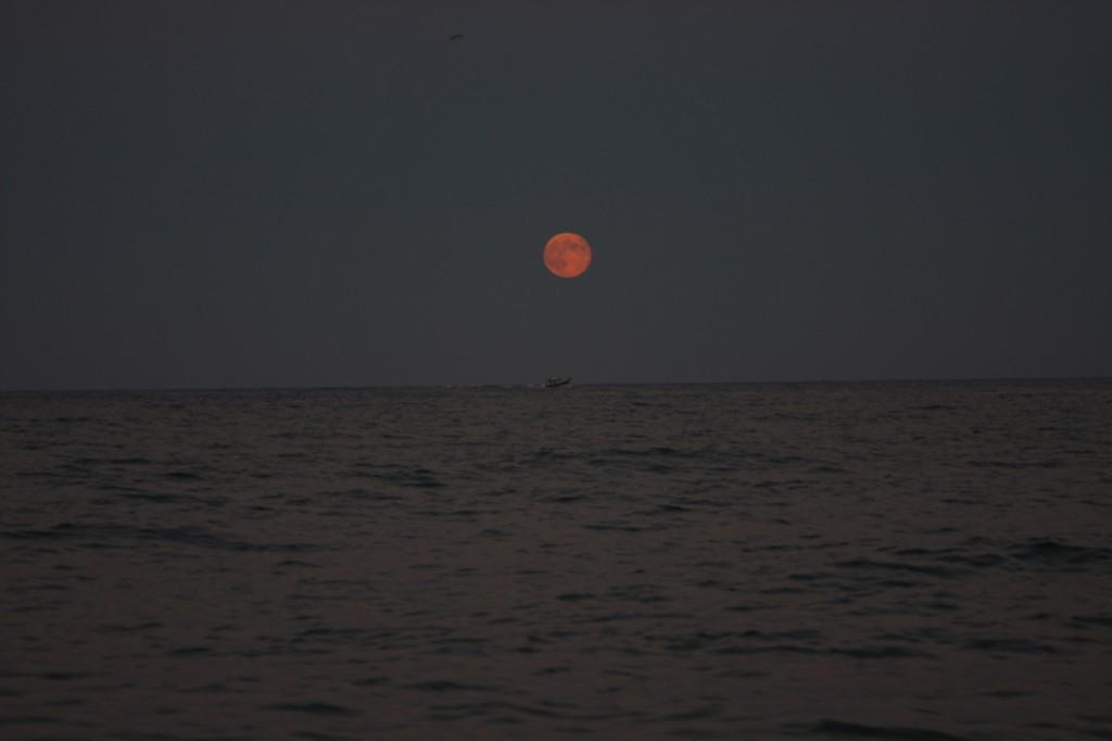 Zdjęcia: Pals , Costa Brava , Luna llena , HISZPANIA