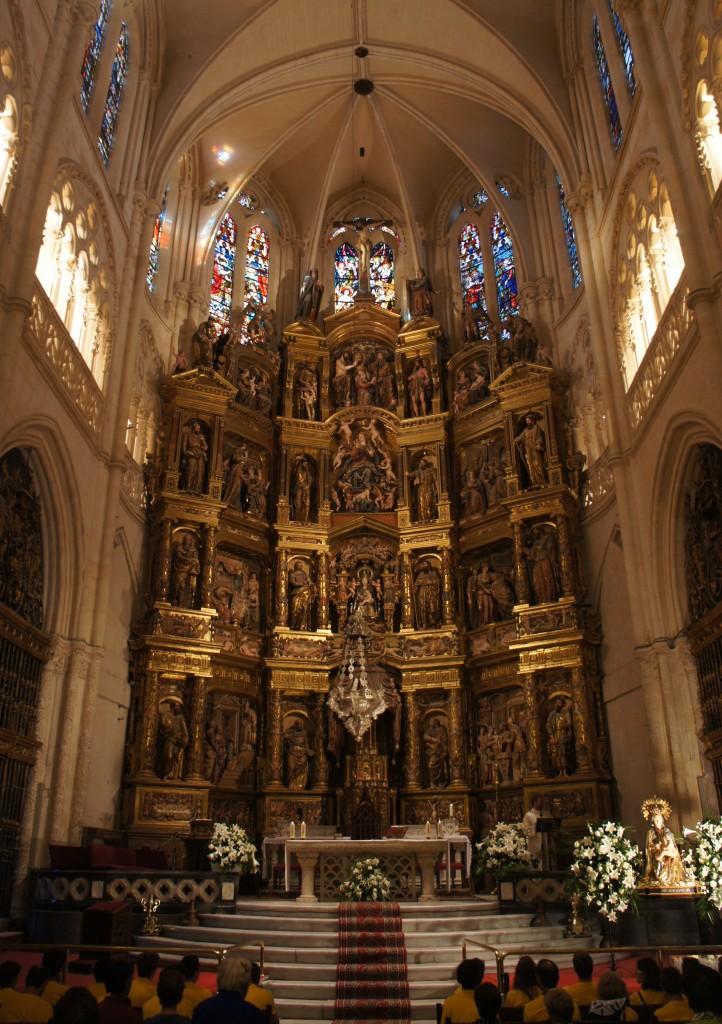 Zdj�cia: Burgos , Kastylia i Leon (Castilla y Le�n), Katedra Naj�wi�tszej Maryi Panny w Burgos, HISZPANIA