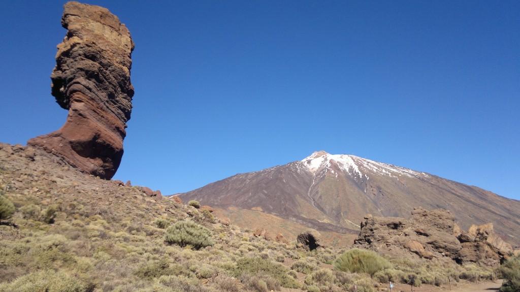 Zdjęcia: Roques de Garcia- pod Teide, Teneryfa, skałka pod Teide, HISZPANIA