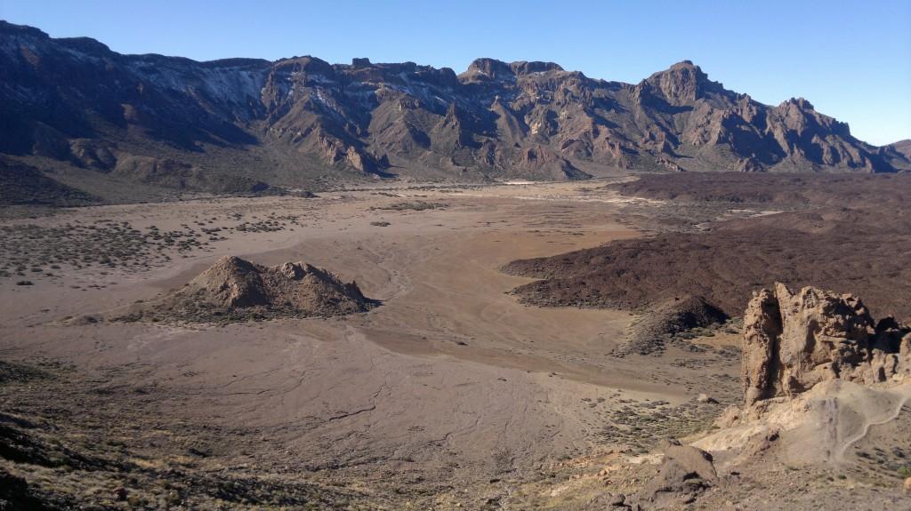Zdjęcia: równina Llano de Ucanca, Teneryfa, równina pod Teide, HISZPANIA