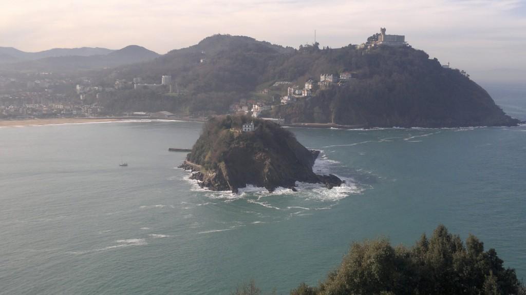 Zdjęcia: Donostia- San Sebastian, kraj Basków, Wyspa św. Klary, HISZPANIA