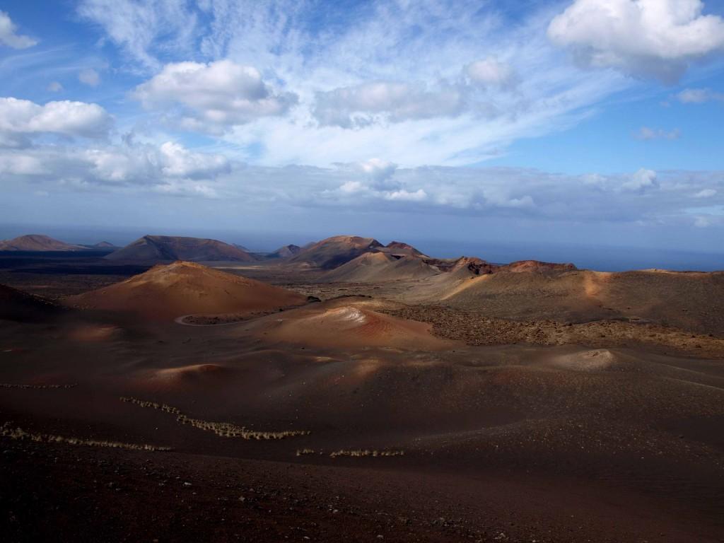 Zdjęcia: Lanzarote, Wyspy Kanaryjskie, wulkany 1, HISZPANIA