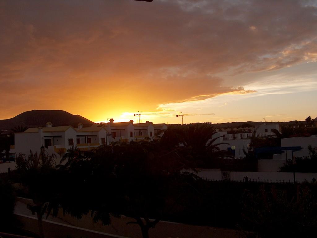 Zdjęcia: Fuertaventura, Fuertaventura, Uroczy zachód słońca, HISZPANIA