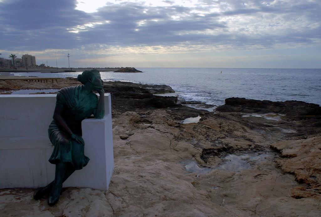 Zdjęcia: Torravieja,  Alicante, Czekając na powrót..., HISZPANIA