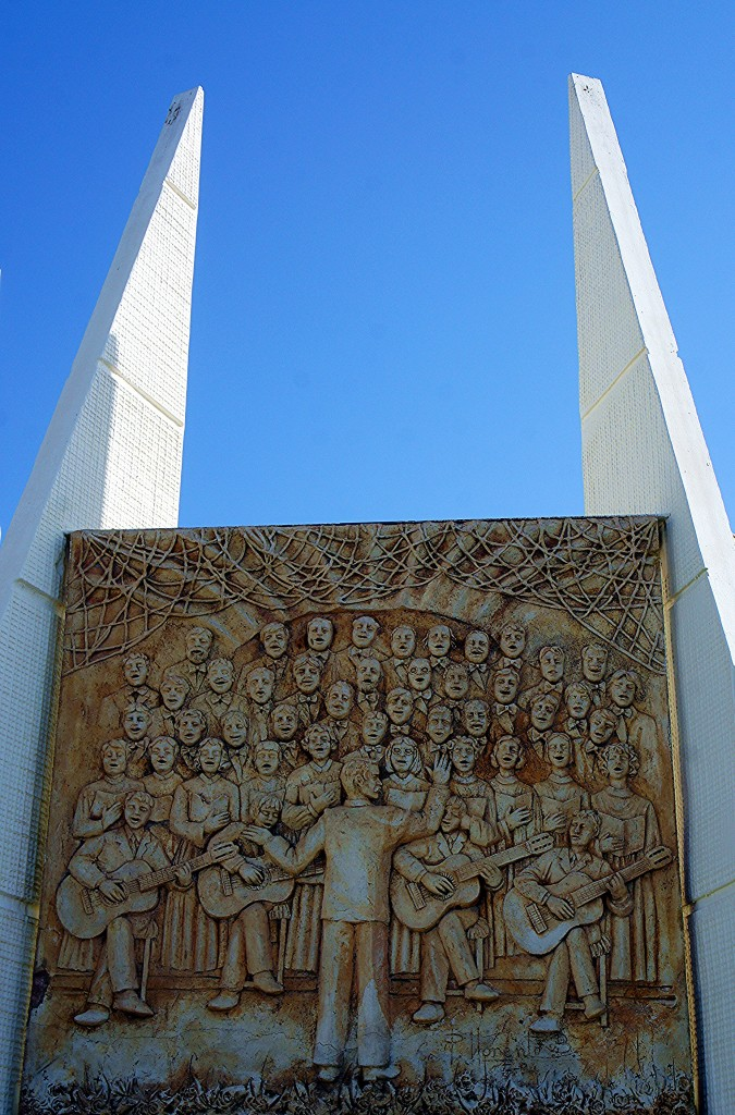 Zdjęcia: Torravieja,  Alicante, Pomnik, fragment, HISZPANIA