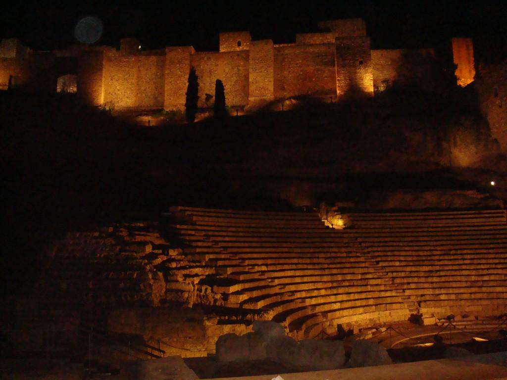 Zdjęcia: Malaga, Andaluzja, Nocny spacer po Maladze, HISZPANIA