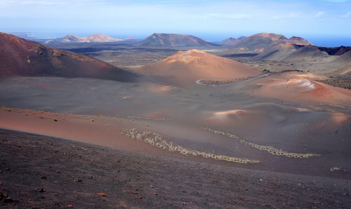 Zdjęcia: Park Narodowy Timanfaya , Lanzarote, jedyna w swoim rodzaju..., HISZPANIA