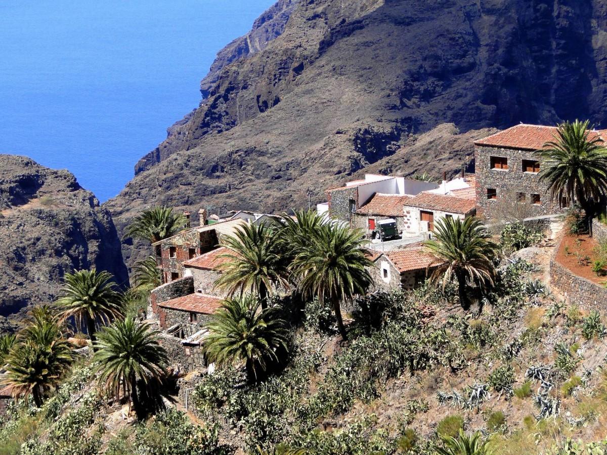 Zdjęcia: Masca., Wyspy Kanaryjskie, Teneryfa, Wieś Masca., HISZPANIA
