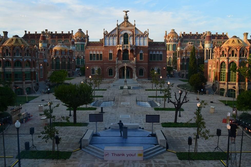 Zdjęcia: Barcelona, Katalonia, Szpital , HISZPANIA