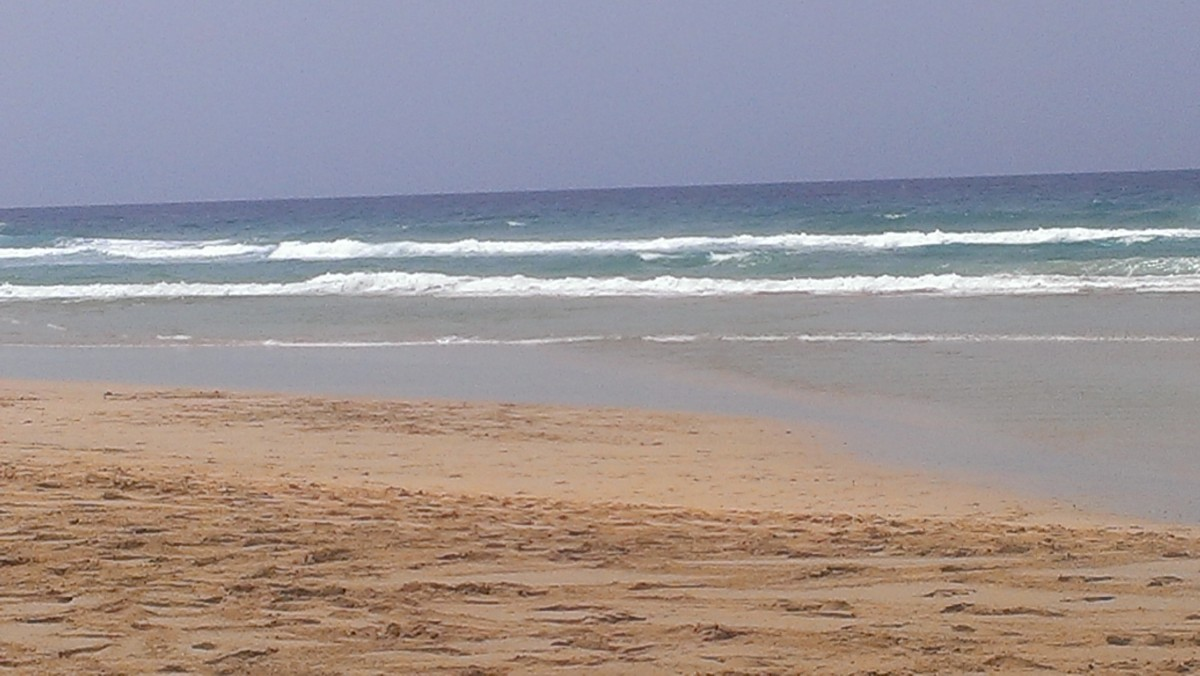 Zdjęcia: Fuerteventura, Wyspy Kanaryjskie, Morro Jable, HISZPANIA