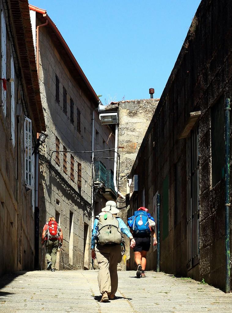 Zdjęcia: Tui, Galicja., Pielgrzymi, HISZPANIA