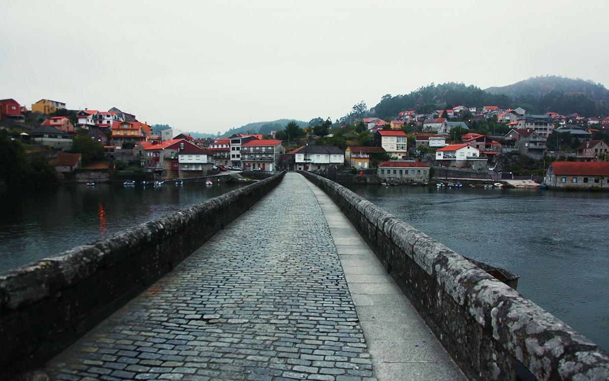 Zdjęcia: Camino Portugues, Galicja., Most rzymski, HISZPANIA