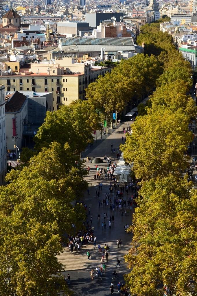 Zdjęcia: Barcelona, Katalonia, Słynna ulica z innej perspektywy, HISZPANIA
