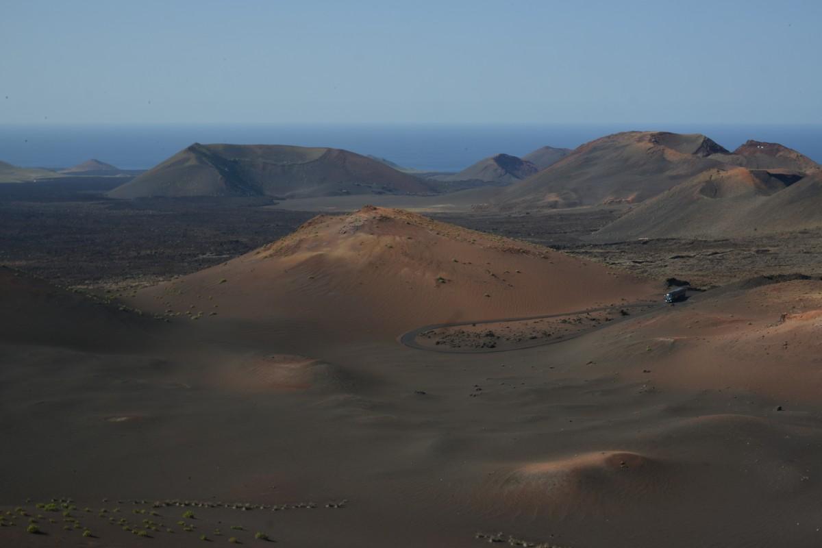 Zdjęcia: Lanzarote, Park Timanfaya, Kosmiczny Krajobraz, HISZPANIA