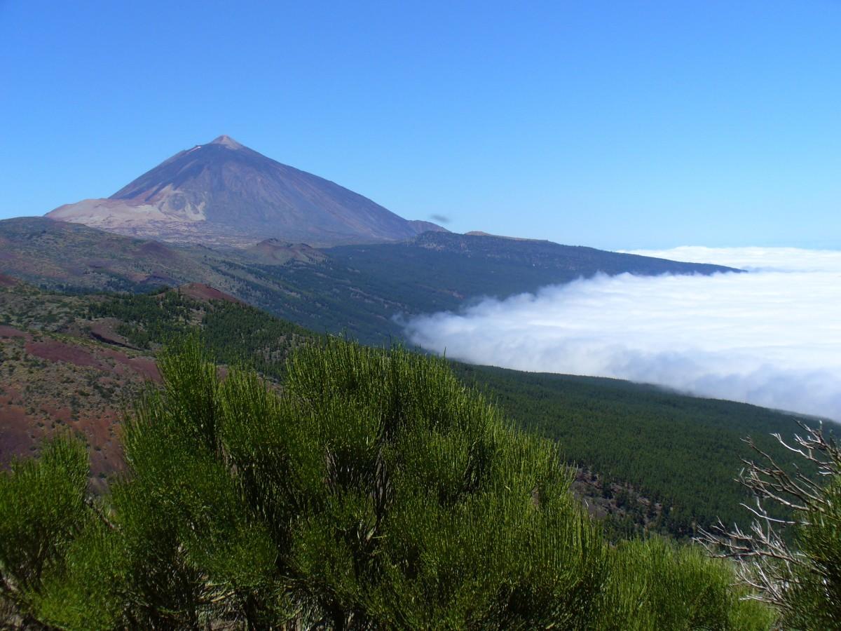 Zdjęcia: Wulkan El Teide, Teneryfa, Tsunami chmur, HISZPANIA