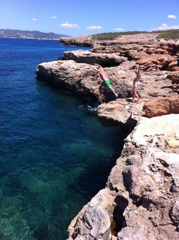 Zdjęcia: Plaża, San Antonio, Ibiza, HISZPANIA