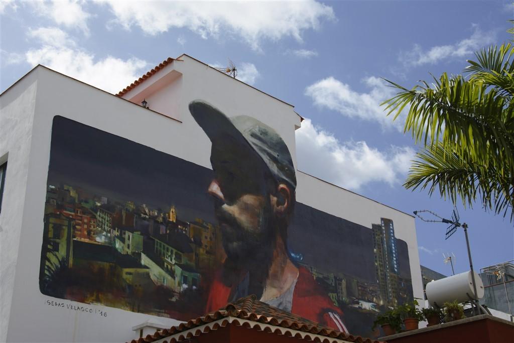 Zdjęcia: Puerto de la Cruz, Teneryfa, street art, HISZPANIA