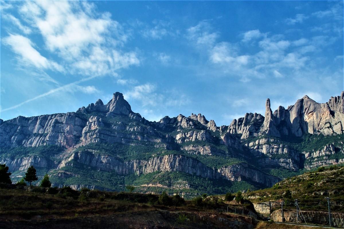 Zdjęcia: Montserrat, Barcelona, Góry Montserrat, HISZPANIA
