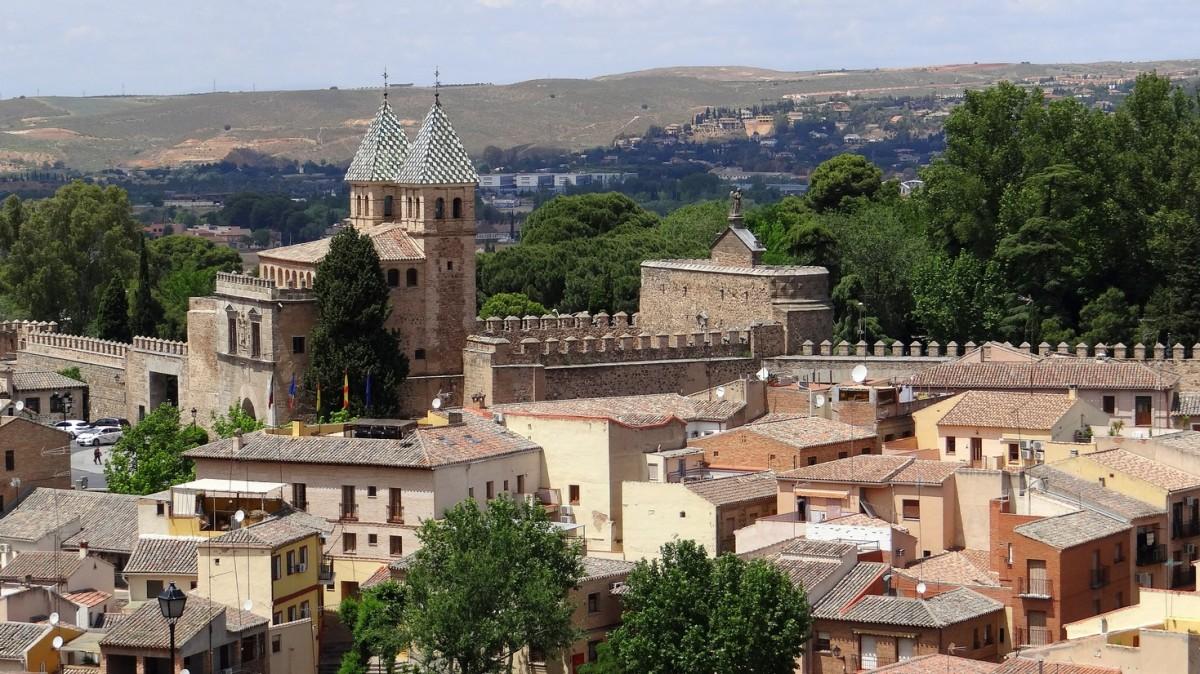 Zdjęcia: Toledo, Castilla-La Mancha, Puerta de Bisagra, HISZPANIA