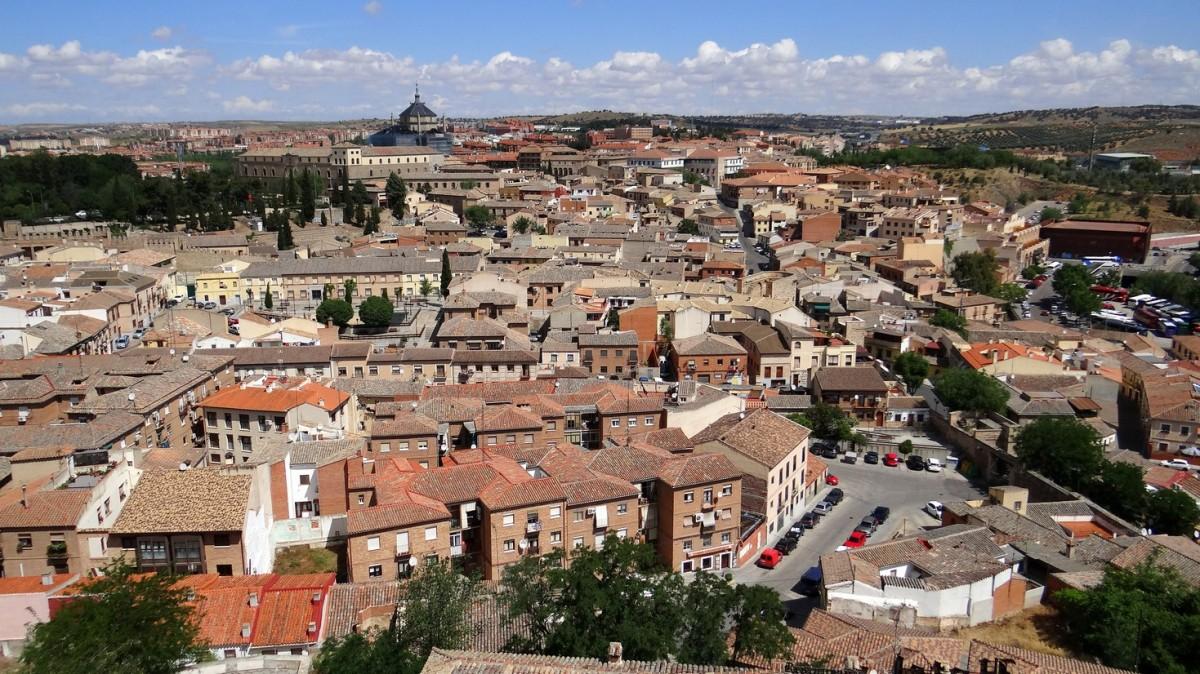 Zdjęcia: Toledo, Castilla-La Mancha, Ceglasto, HISZPANIA